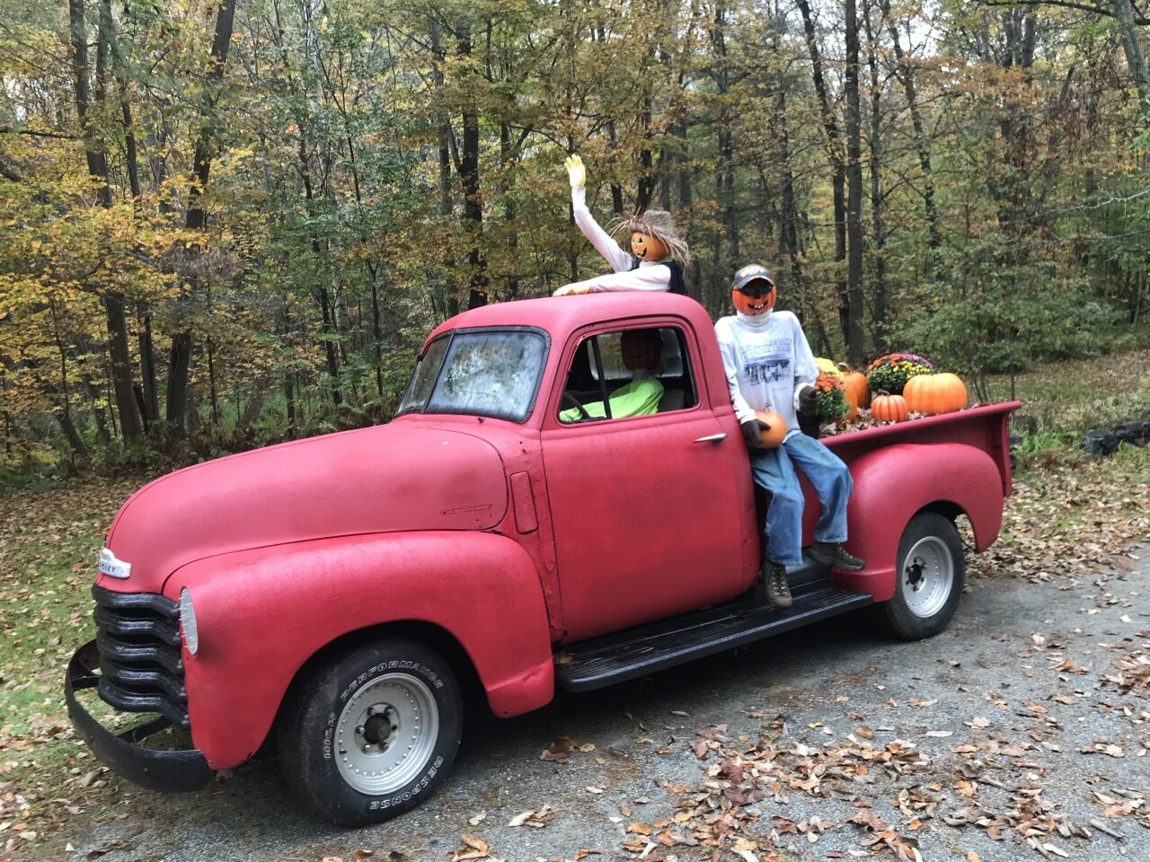 """Hop in we are going """"Pumpkin Hunting"""" at 29 Methodist Hill Rd"""